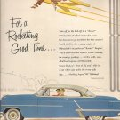 """GM OLDSMOBILE """"88"""" HOLIDAY COUPE print advertisement Fortune Magazine 1953"""