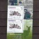 CANADA $1 Atlantic Walrus - used Scott 1689b x 2 FU