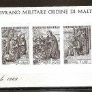 SOM SOVEREIGN MILITARY ORDER OF MALTA - Christmas 1969 - Souvenir Sheet