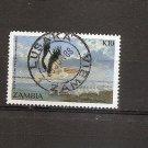ZAMBIA - Bird - White pelican  Scott 396  SG 506