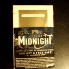 CIGARETTE BOX EMPTY PACK USA MARLBORO GOLD CHASING MIDNIGHT Virginia tax stamp