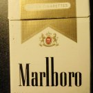 CIGARETTE BOX EMPTY PACK USA MARLBORO Gold Virginia tax label stamp