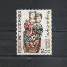ANDORRA French - Art - Virgin of Sispony Yvert 271 Scott 264