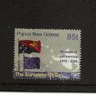 PAPUA NEW GUINEA  EU Partnership Scott 1307 SG 1243