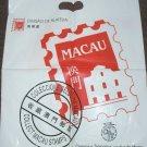 "MACAU Post Office CTT Plastic carrier bag ""Collect Macau Stamps"""