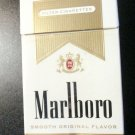 CIGARETTE BOX -- EMPTY PACK -- USA MARLBORO Gold Pack - Virginia NVCTB tax stamp
