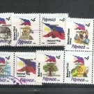 PHILIPPINES Definitive Centennial overprint 1998 Scott 2545 a-n Set of 14 Used