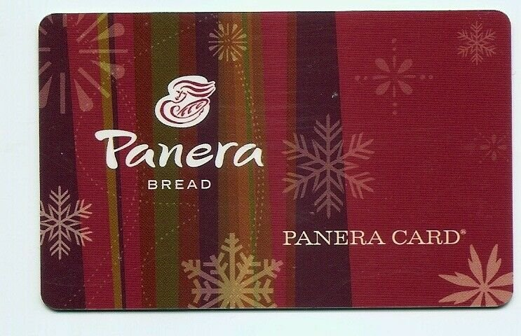 PANERA Bread CARD - Gift / Stored value / Charge - EXPIRED