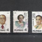 PHILIPPINES Great Filipinos 1998 Scott 2536 a-e Used