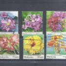 MALAYSIA  Flowers - 2010 - Short set  Fine used