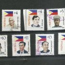 PHILIPPINES Definitive Revolutionary Heroes 1998 Scott 2518 //. 2550 Used