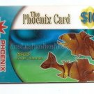 SINGAPORE - Telephone card Phoenix Card $10 Zodiac PISCES  Dec 2001 EXPIRED