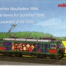 MARKLIN HO Model railroad train - New Items Summer 1996 Catalog