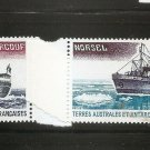 FSAT TAAF FRENCH ANTARCTIC SHIPS - Scott C62-3 Yvert 63-4 MNH 1980