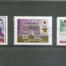 PHILIPPINES World War 2 Liberation of Internment camps  Scott 2357-59