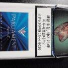 CIGARETTE BOX - EMPTY PACK - KOREA - PARLIAMENT AQUA 5
