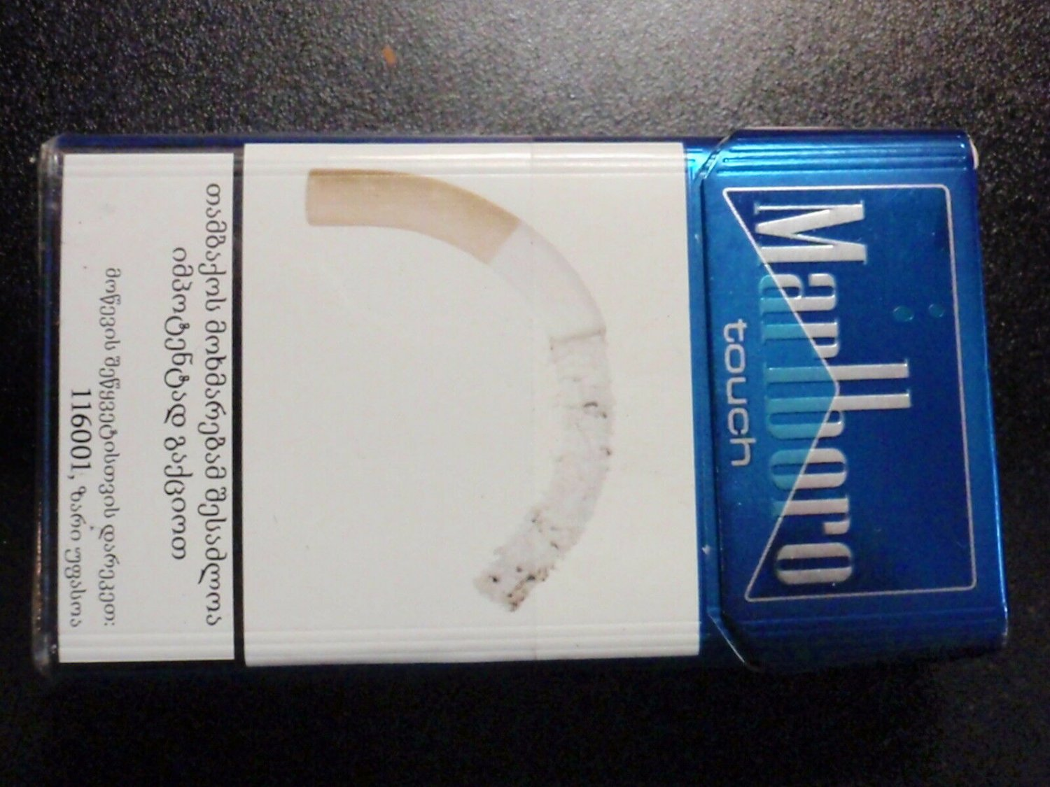 CIGARETTE BOX - EMPTY PACK - SRI LANKA MARLBORO TOUCH - Pristine - EMPTY