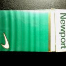 CIGARETTE BOX - EMPTY PACK - USA NEWPORT Box 100s - MD tax stamp - EMPTY