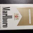 CIGARETTE BOX - EMPTY PACK - USA - MARLBORO GOLD - Virginia NVCTB Tax label