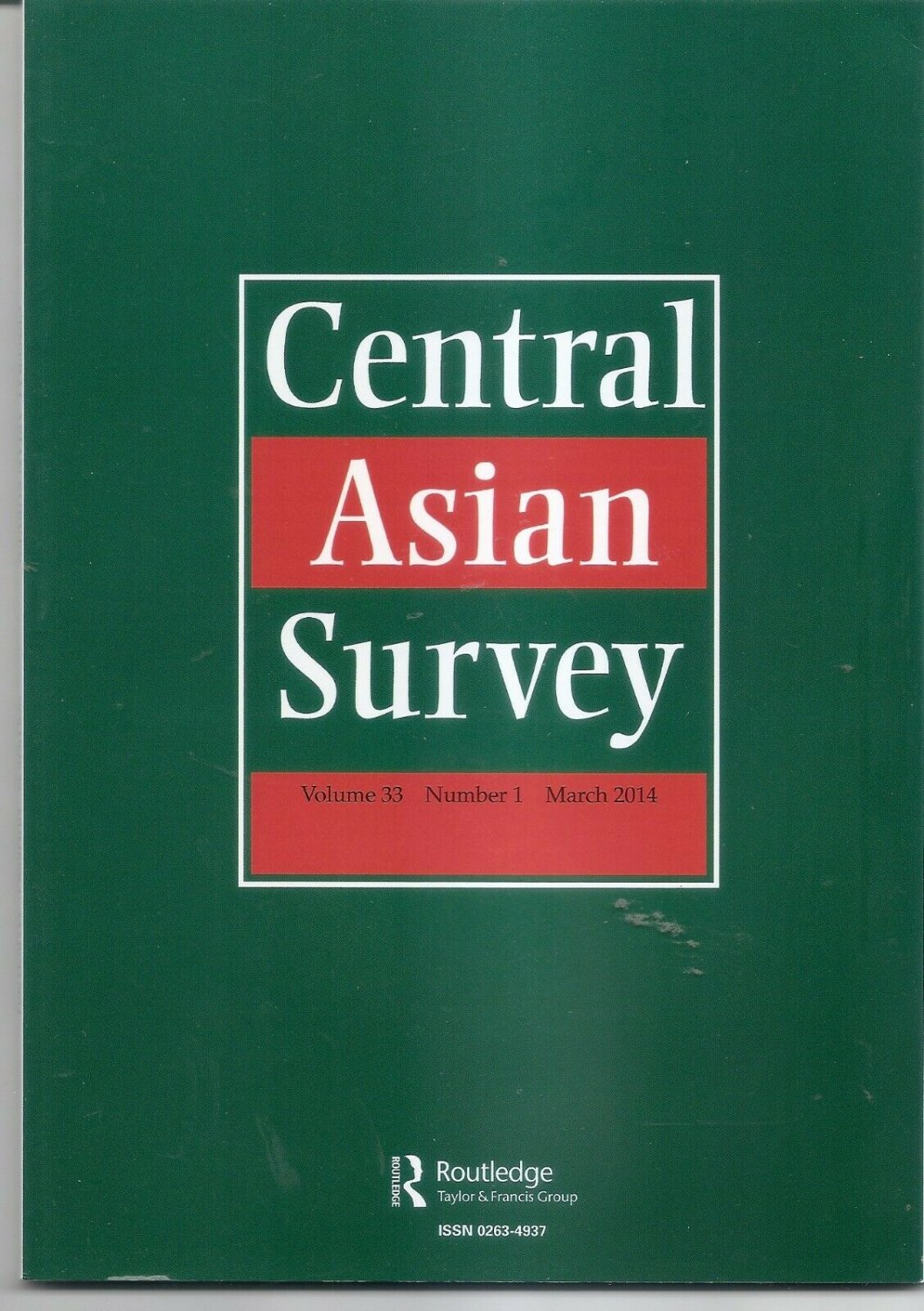 CENTRAL ASIAN SURVEY - Vol 33 Num 1 March 2014 - Islam, Kyrgyzstan, Kazakh