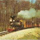 POSTCARD - Model Railroad, Milwaukee County Zoo - 1960s