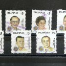 PHILIPPINES Definitive Presidents 2000 Scott 2663 a-j Set of 10 Used