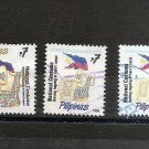 PHILIPPINES National Costume definitive  1995/7 Scott 2224, 2224A, 2467A