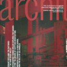 ARCHITECTURE MAGAZINE November 2000 Ruhr Valley, Museums, Schools