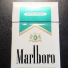 EMPTY CIGARETTE BOX - EMPTY PACK - USA MARLBORO MENTHOL GOLD PACK Virginia tax label