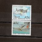 SOUTH AFRICA - Aircraft- Scott 849t,y  SG 798, 803 - 1993 - Fine postally used