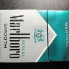 EMPTY CIGARETTE BOX - EMPTY PACK - USA - MARLBORO SMOOTH Menthol - with Court label