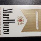 EMPTY CIGARETTE BOX - EMPTY PACK - USA MARLBORO GOLD Virginia NVCTB Tax label - EMPTY
