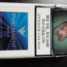 EMPTY CIGARETTE BOX - EMPTY PACK - KOREA - PARLIAMENT AQUA 5 - EMPTY