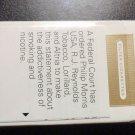 EMPTY CIGARETTE BOX - EMPTY PACK - USA - MARLBORO GOLD - Court mandated label - EMPTY