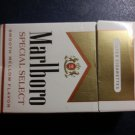CIGARETTE BOX - EMPTY PACK - USA - MARLBORO SPECIAL SELECT + Court label - EMPTY