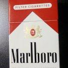 EMPTY Cigarette Box Collectible MARLBORO Red Philip Morris - pristine - EMPTY