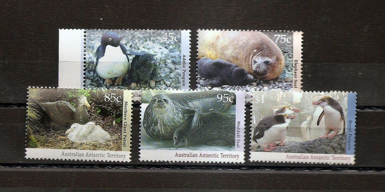 AUSTRALIA ANTARCTIC TERRITORY AAT - Wildlife  - Scott L83-L86A  1992