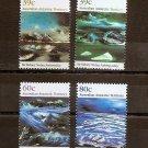 AUSTRALIA ANTARCTIC TERRITORY AAT - Sidney Nolan  1989 - Scott L77-80 MNH
