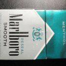 EMPTY Cigarette Box Collectible MARLBORO SMOOTH Menthol - with Court label