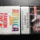 EMPTY Cigarette Box Collectible KOREA AFRICA MOLA RANDOM FIVE - Pristine - EMPTY