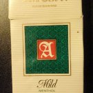 EMPTY Cigarette Box Collectible Indonesia SAMPOERNA Menthol w/ tax stamp label