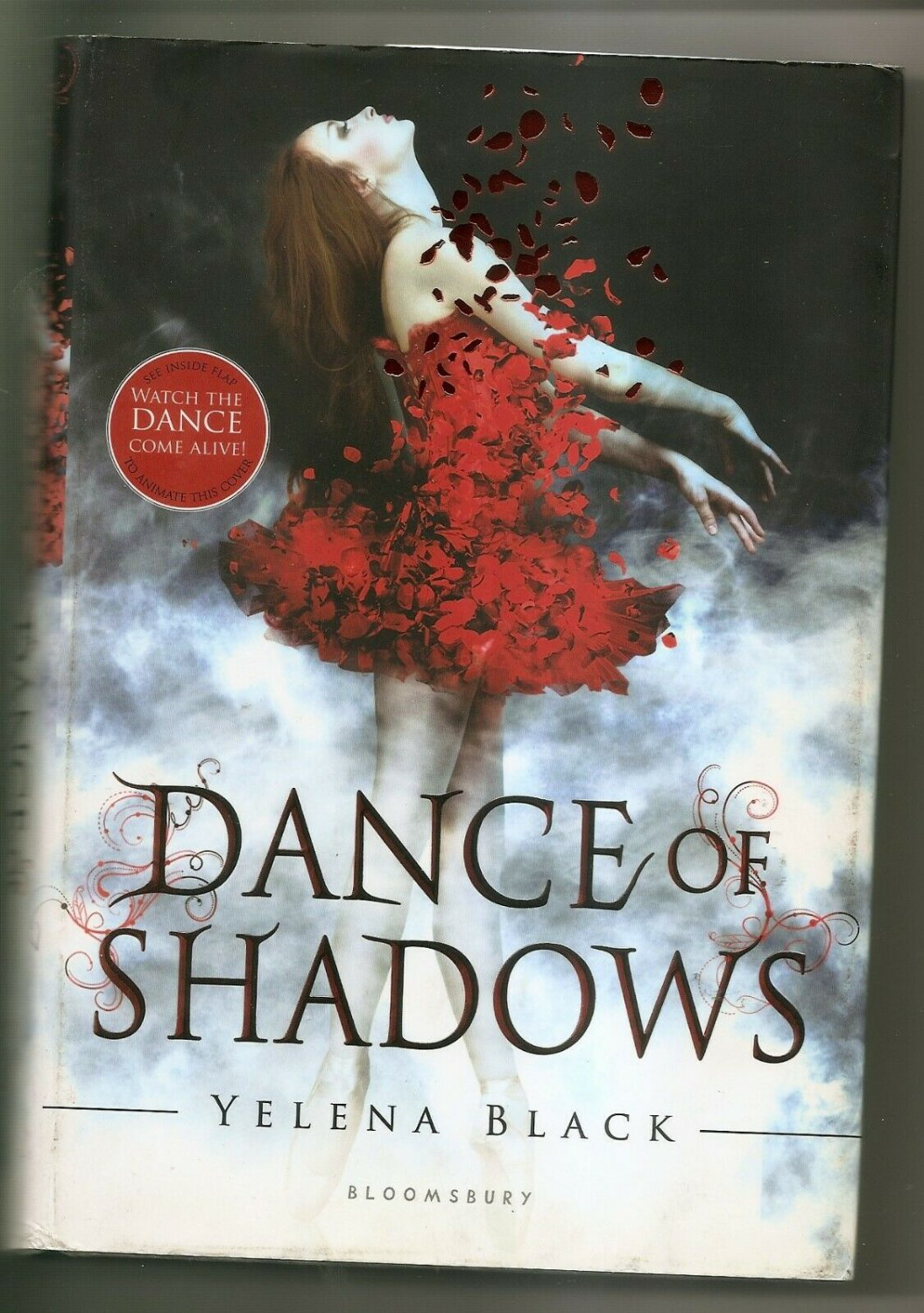 DANCE OF SHADOWS by Yelena Black Hardcover Dust Cover - NEW
