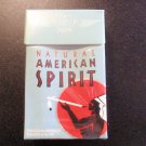 EMPTY Cigarette Box Collectible AMERICAN SPIRIT Blue Pack CALIF TAX STAMP
