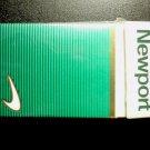 EMPTY Cigarette Box Collectible USA NEWPORT Box 100s - MD tax stamp - EMPTY