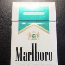 EMPTY Cigarette Box Collectible - USA MARLBORO MENTHOL GOLD Virginia tax label