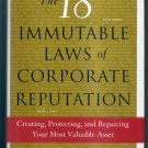 The 18 Immutable Laws of Corporate Reputationn by Ronald Alsop  WSJ Book  NEW!