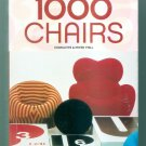 1000 Chairs [25th Anniversary] [Taschen] (English, German, French Edition) NEW!