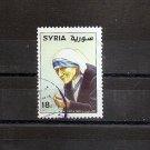 SYRIA - Scott 1409 - Mother Teresa 1998 Fine Used