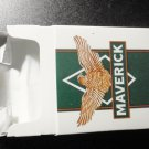 EMPTY Cigarette Box Collectible USA MAVERICK MENTHOL Court mandated label EMPTY