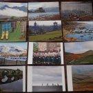 POSTCARDS - SCOTLAND - Set of 12 - Beautiful Edinburgh, Highlands, Etc